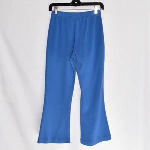 St. John Cerulean Blue Knit Pants sz 2